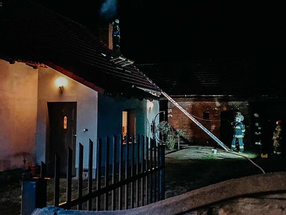 Pożar komina Nowe Siołkowice