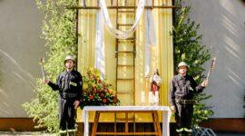 Strażacki ołtarz na Boże Ciało 2021